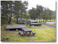 あいの沢キャンプ場