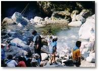入川渓谷夕暮キャンプ場