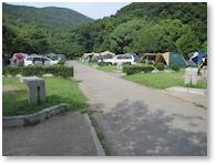 休暇村紀州加太キャンプ場