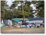 大淀西海岸ムーンビーチキャンプ場