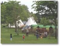 アフリカンサファリ ティーピーキャンプ場