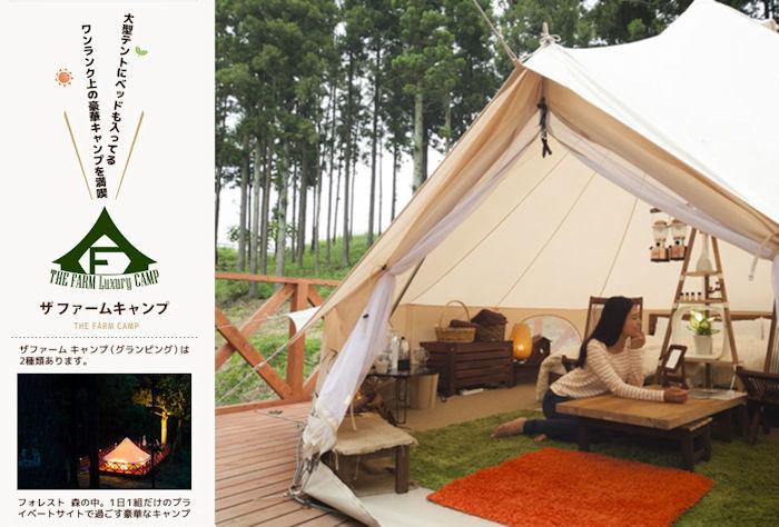 ザ ファーム キャンプ