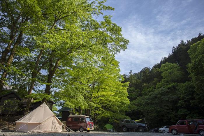 古民家ファミリービレッジキャンプ場
