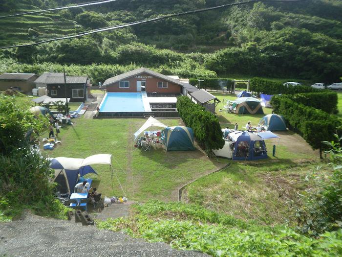 南伊豆・入間キャンプ村